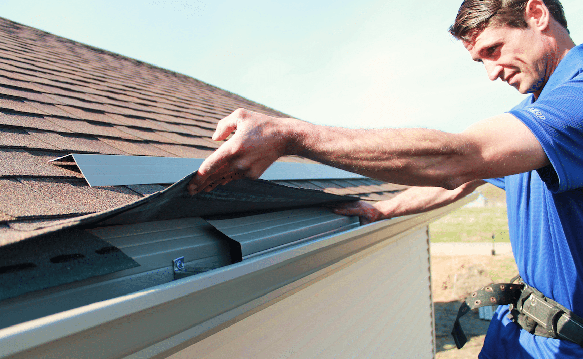 Need a Gutter Apron Installation in Indianapolis? Call- 317-983-0258!!